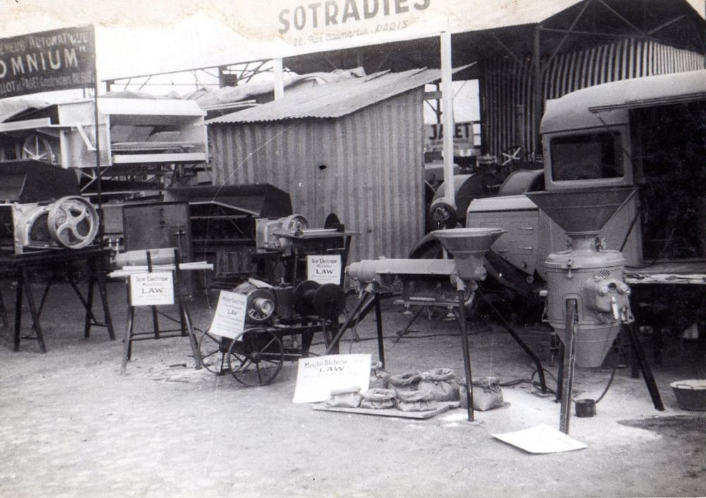 Foire de Nantes en 1936