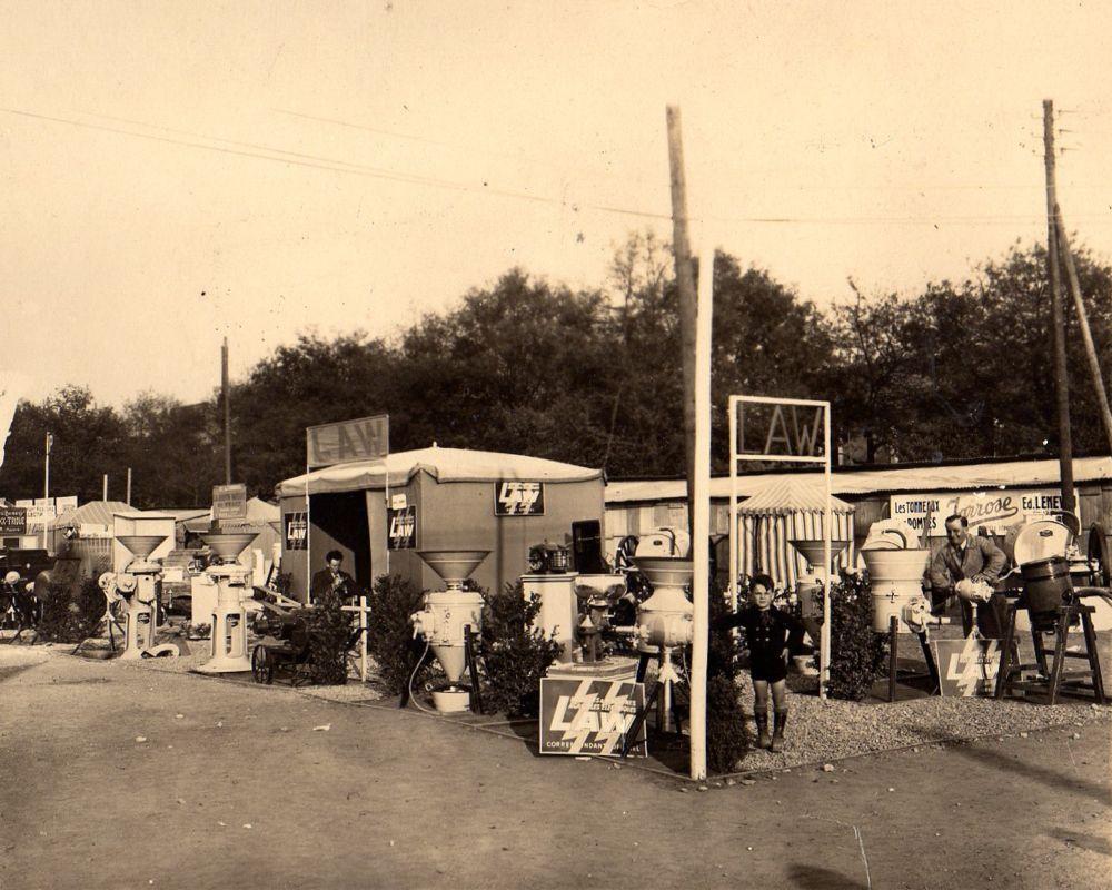 Foire de Nantes en 1939