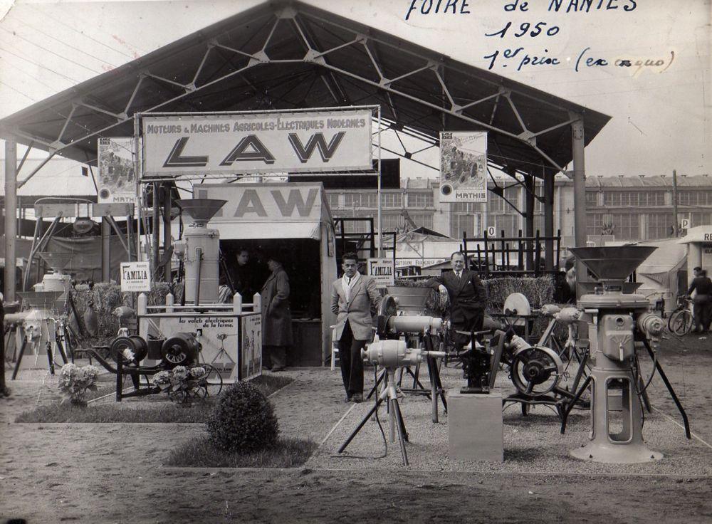 Foire de Nantes en 1950