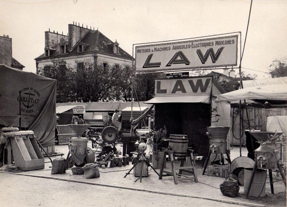 Foire de Pontivy en 1950